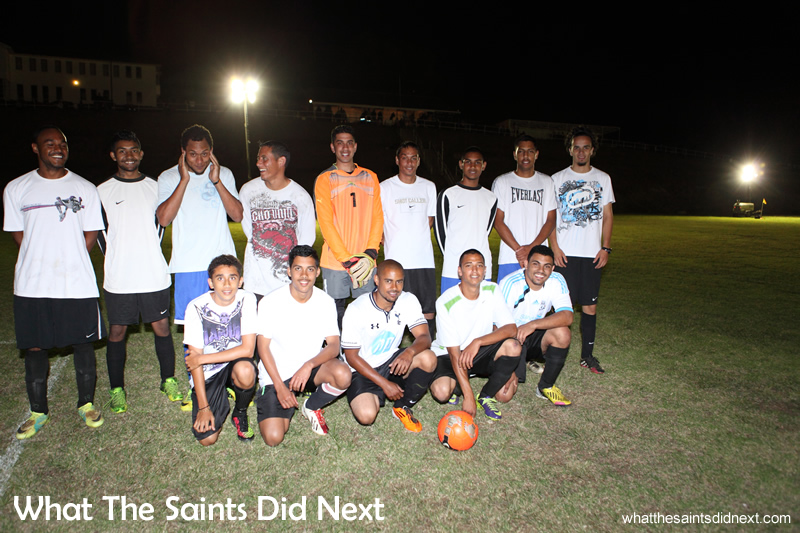 The Under 25s team