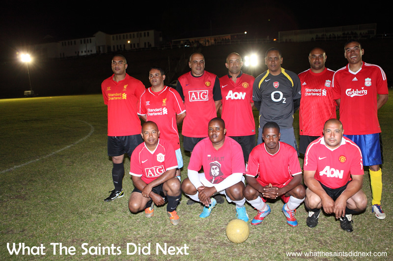 The over 35s team