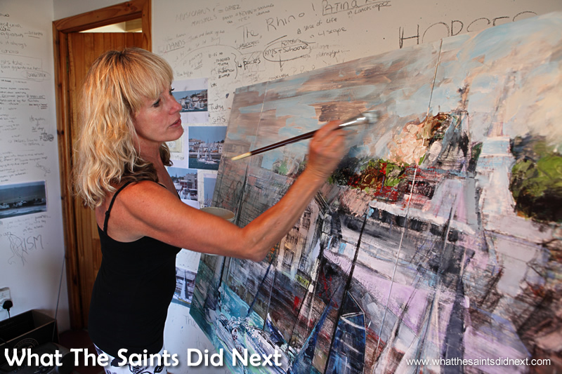 Working on the start of the Governor's Cup Yacht Race from 2014.