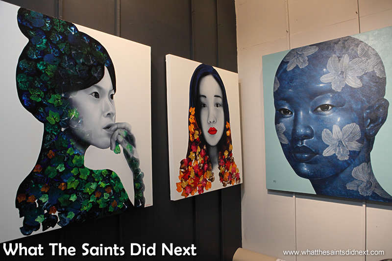 The artwork on display is truly beautiful and varied.