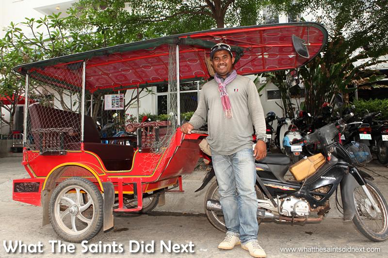 Nim Chantra, best tuk tuk service in Phnom Penh.