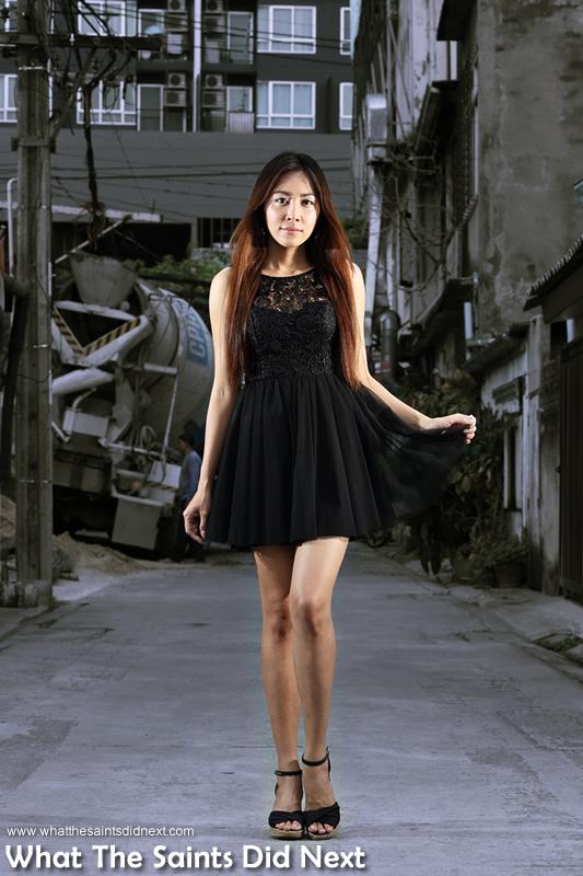 Thanya is a former model.