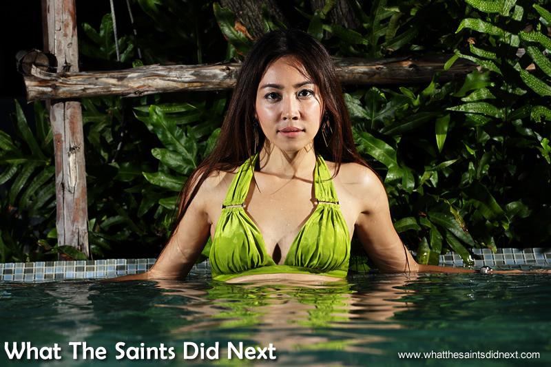 Thanya, a true beauty in Bangkok.