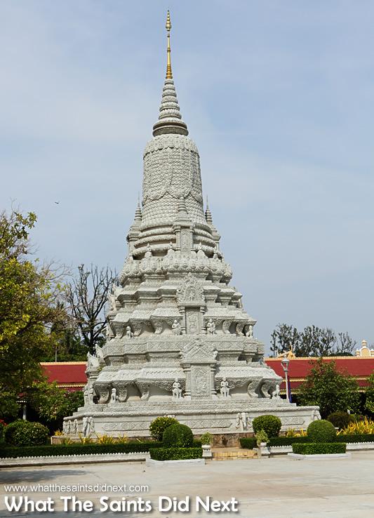 King' Norodom's Stupa.