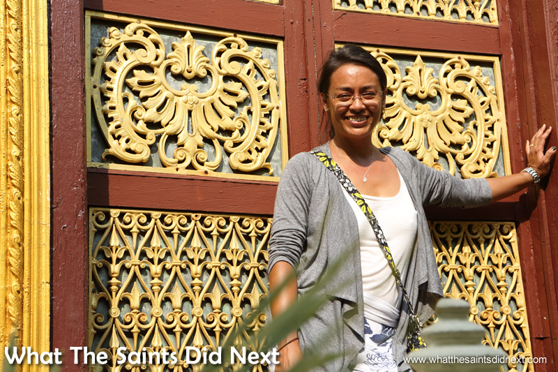 """""""Can we have this door for our house?"""" - the splendour of the palace was incredible."""