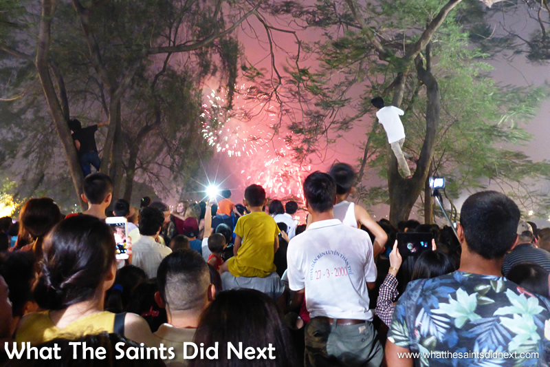 The scene in Hanoi on 30 April 2015, the 40th anniversary of Reunification Day.