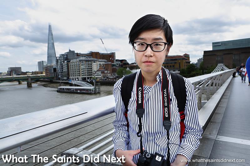 Bess from Hong Kong.