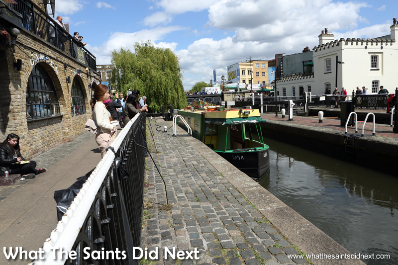 The vibrant Camden Town is home for Kirsty.