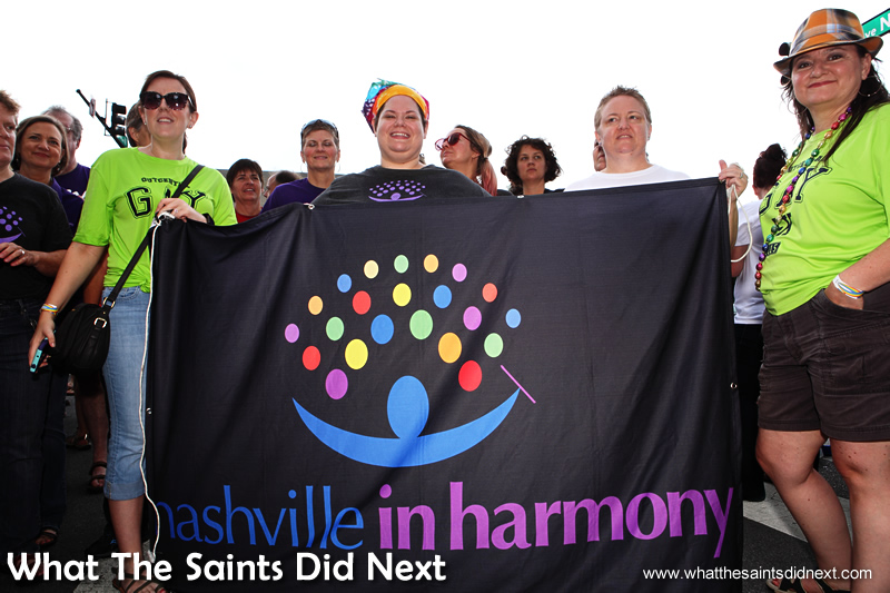 Nashville in Harmony on the Equality Walk.