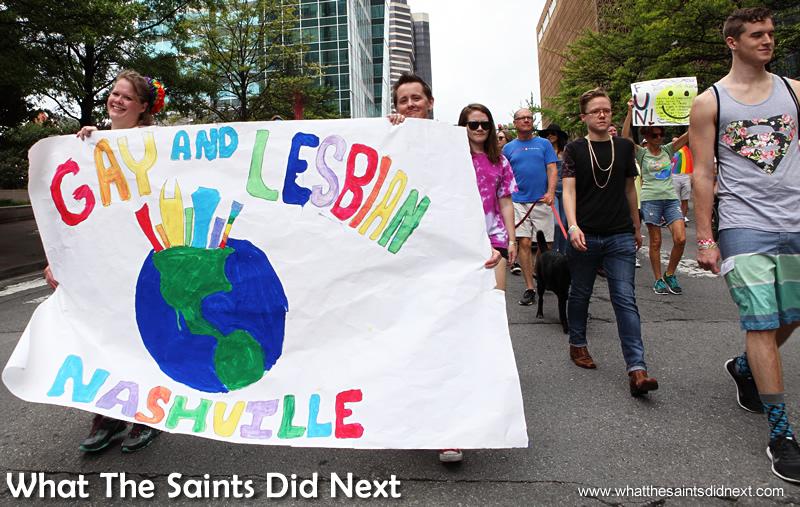 Go Nashville Pride!