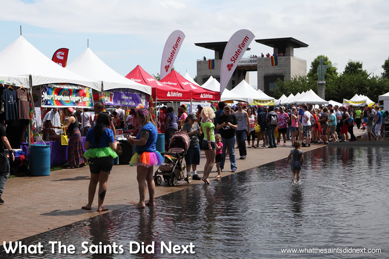 An estimated 18,000 people attended the Nashville Pride celebrations.