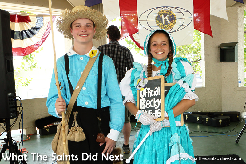 Rhet Reed and Molly have been chosen as the new Tom & Becky ambassadors for Hannibal, Missouri.