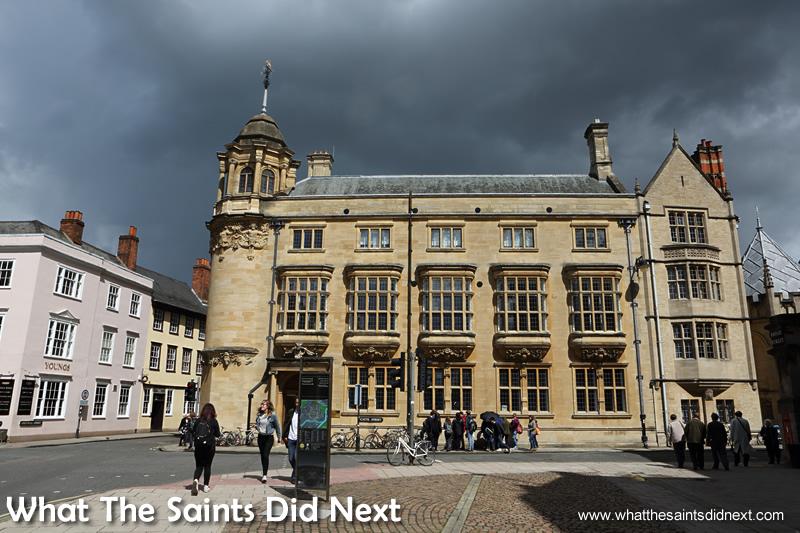 More of the impressive architecture around Oxford.