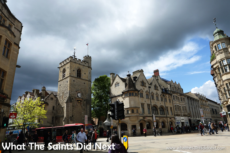 Carfax Tower, Oxford City.