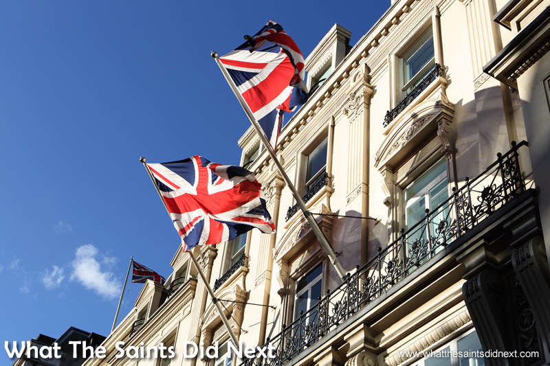 London, the most popular city in the world for tourists.