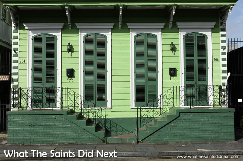 The stunning French Quarter in New Orleans.