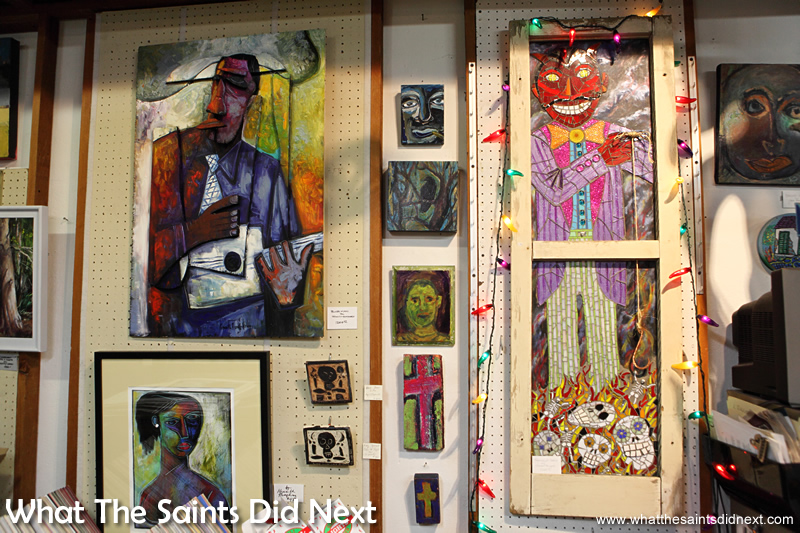"""""""There's some notable Mississippi artists who come out of Vicksburg actually and so there's always been a colony of artists. We have an active art association and we're close enough to Jackson that we feed off their art community as well."""" Jean Blue."""