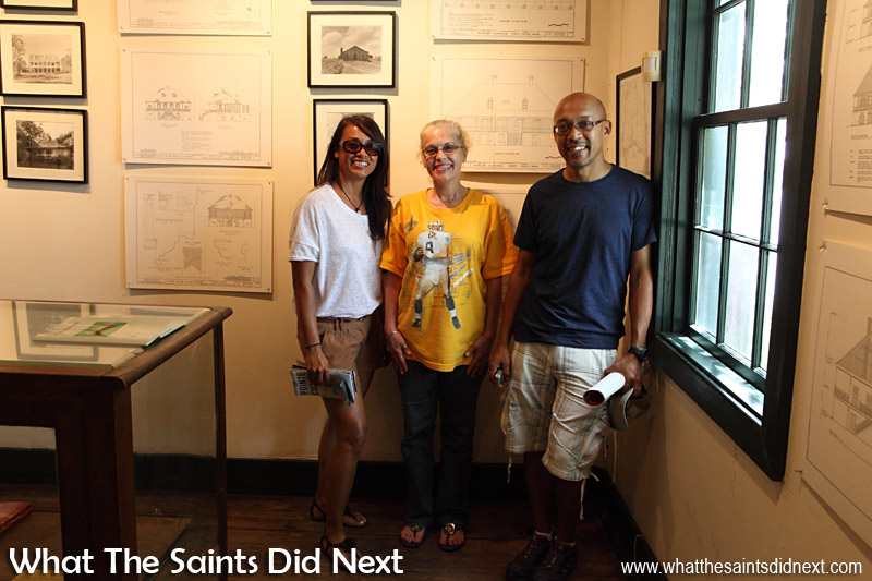 It's been brilliant meeting Kerry-Lyn and learning about Oscar at the Pointe Coupée museum, Louisiana.