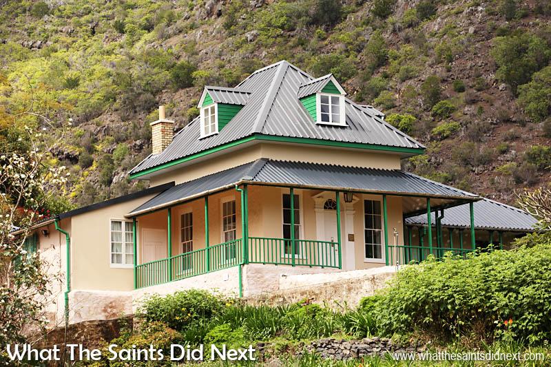 Briars saint helena for Longwood house