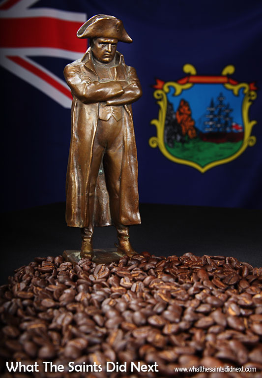 """""""The only good thing about St Helena is the coffee,"""" Napoleon supposedly proclaimed. He was an avid coffee lover and a great fan of the island's green-tipped Bourbon Arabica beans. St Helena coffee is rare and expensive and coffee connoisseurs the world over rate it amongst the world's best."""