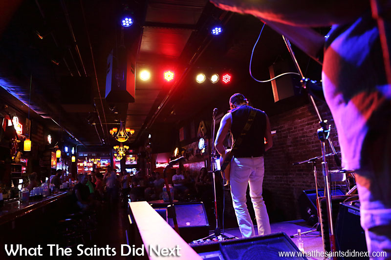 Inside the Second Fiddle with Lefty Ferguson on stage.