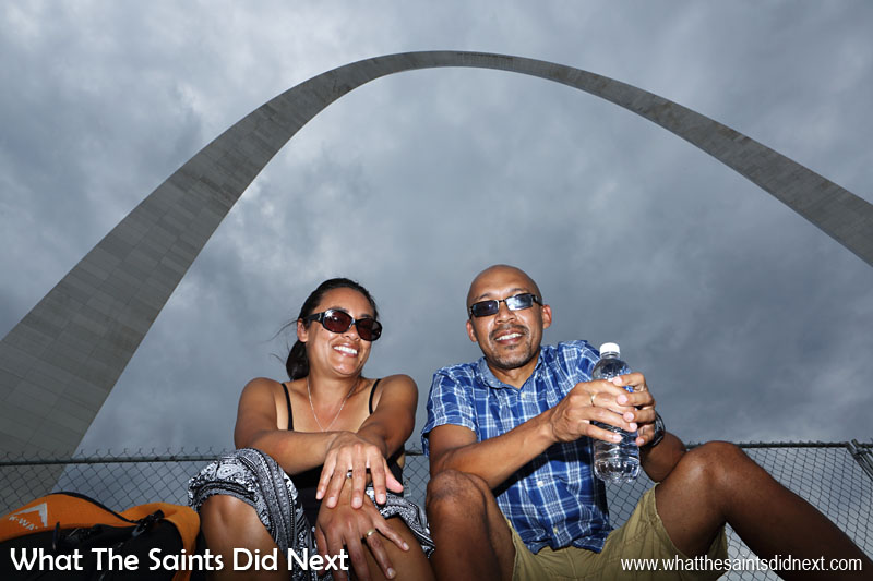The St Louis, Gateway Arch. Admission to park: Free  Admission to the viewing platform at top of the Arch costs $10 for adults, $5 children (3-15 yrs).