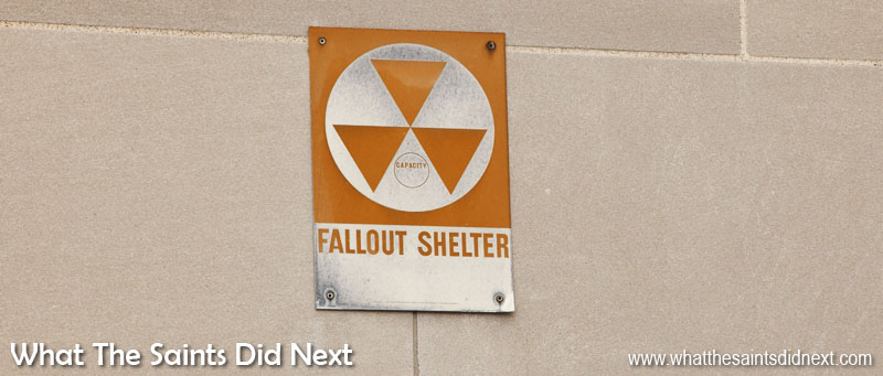 St Louis nuclear fallout shelter. Good to know! Can never have too much safety information in a new place.
