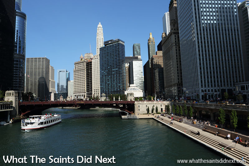 Chicago is quite simply a stunning city, set off by the Chicago River. The pedestrian friendly design means walking around to see the sights is the best way to experience America's third largest city.