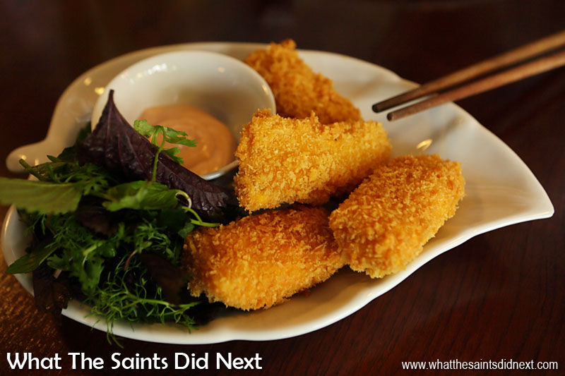 The secret of Vietnam's amazing cuisine is now becoming more well known around the world. Crispy spring rolls like these in Hanoi make eating out in the city a wonderful experience.