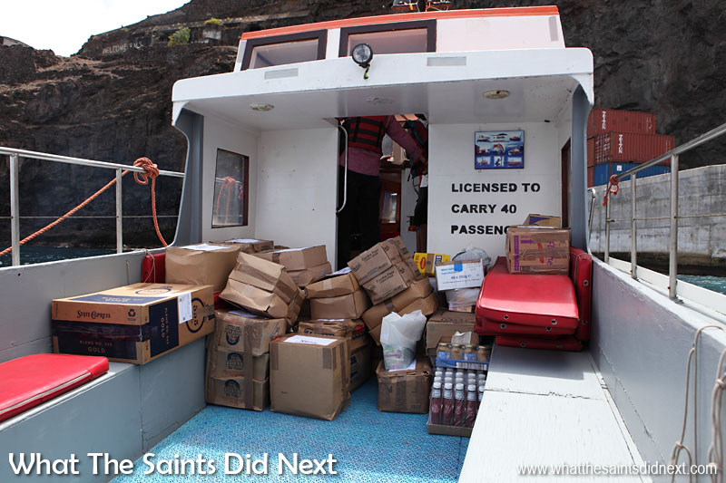 Grocery order on board the 'Gannet Three' to be delivered to Skandi Admiral.