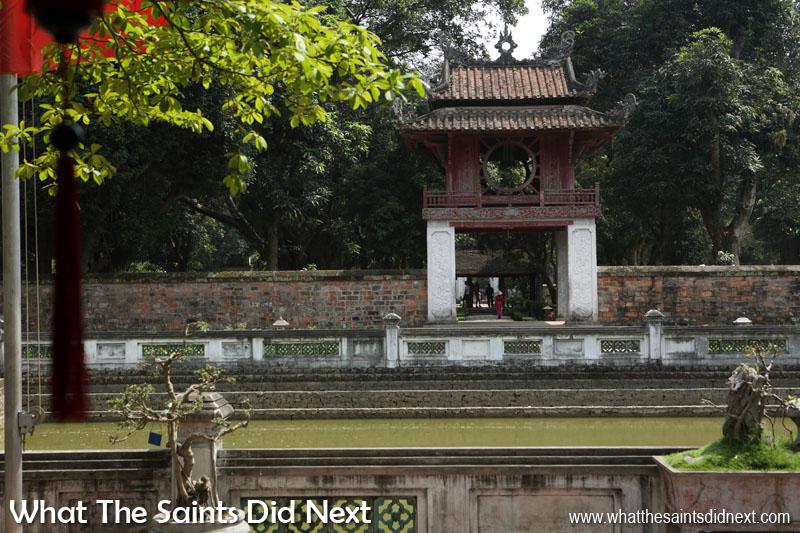 The Well of Heavenly Clarity - Quoc Tu Giam, Hanoi, Vietnam.