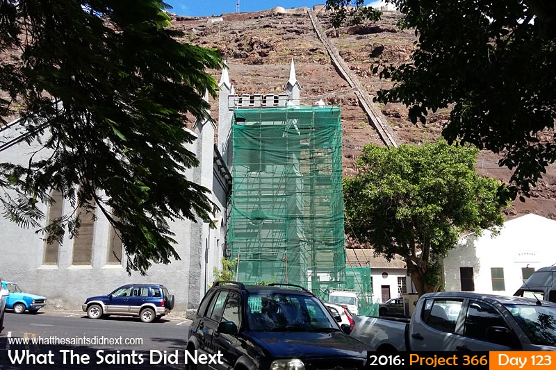 'Leicester City' 2 May 2016, 11:12 - 1/563, f/2.4, ISO-50 - Samsung Galaxy A3 What The Saints Did Next - 2016 Project 366 St James Church, Jamestown, St Helena.