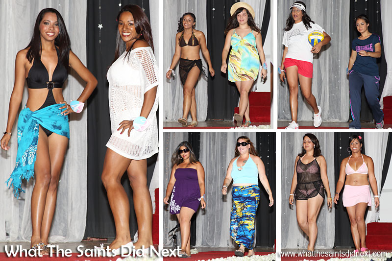 The 'Summer Jam' entertainment by contestants at Miss St Helena 2016.