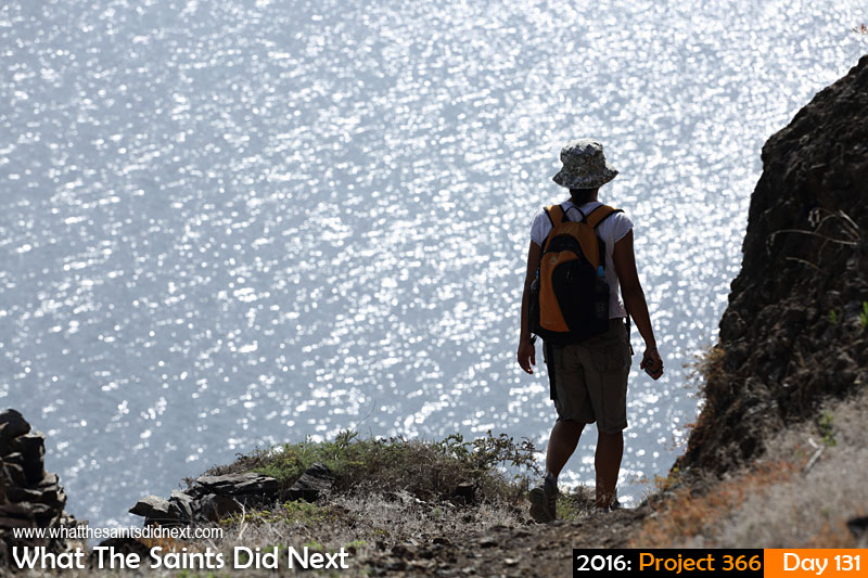 'Certification' 10 May 2016, 14:36 - 1/500, f/8, ISO-200 What The Saints Did Next - 2016 Project 366 Hiking on St Helena.