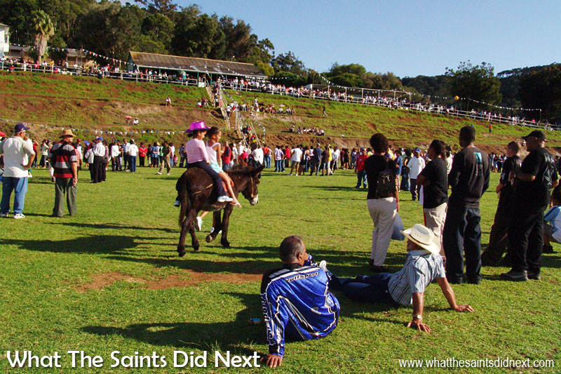 St Helena was discovered on 21 May, 1502. The island celebrates 'St Helena Day' every year with a public holiday and a big event. In 2005 celebrations were held on Francis Plain.