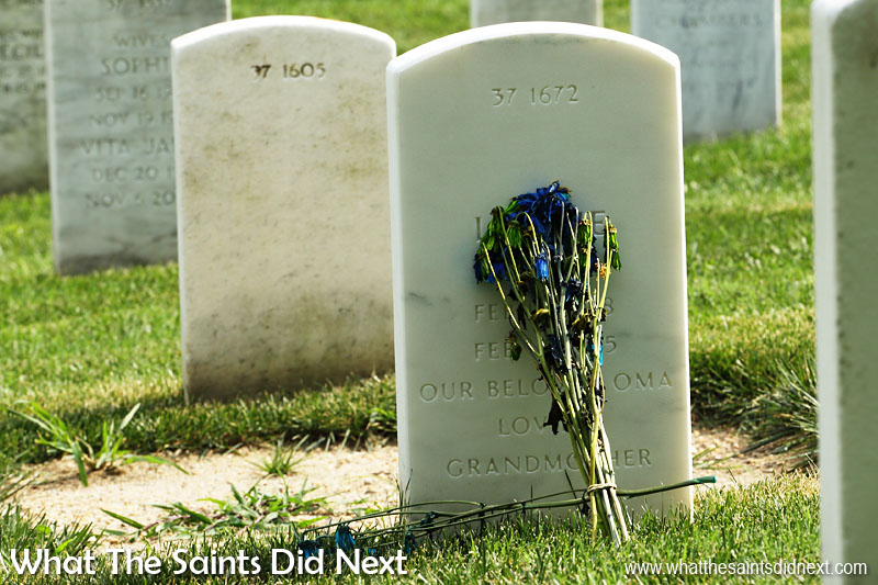 The Arlington National Cemetery, in Virginia, is the USA's largest military burial ground and serves as the final resting place for more than 400,000 active duty military, veterans and their immediate families.