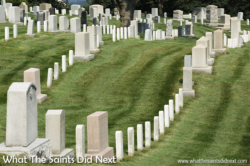 The first military burial at Arlington National Cemetery took place on 13 May, 1864, for Private William Christman. Today, 152 years later, Arlington is the final resting place for more than 400,000.