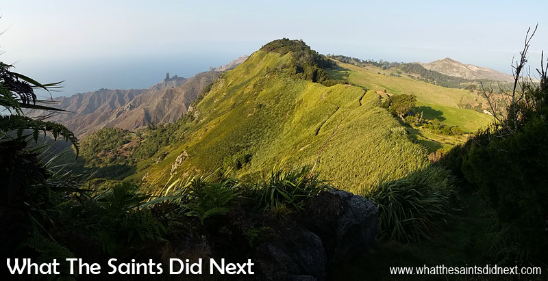 Go Large - I really like the panoramic feature on my mobile phone camera. This is an early morning view across the Blue Hill and Sandy Bay landscapes of St Helena. The panoramic shows off the changing terrain. Tips For Better Mobile Photography