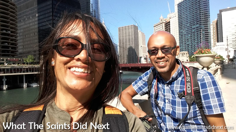 But first... - The day my mobile photography 'discovery' really began. Of course, the selfie phenomenon can be attributed to the mobile camera and with the two way camera modes it's too tempting not to! This is us in the windy city of Chicago, USA. Tips For Better Mobile Photography