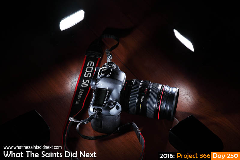 'Chicago 500' 6 September 2016, 17:22 - 1/125, f13, ISO-100 + flash (4) What The Saints Did Next - 2016 Project 366 Canon 5D-MKIII camera illuminated by four strobes.