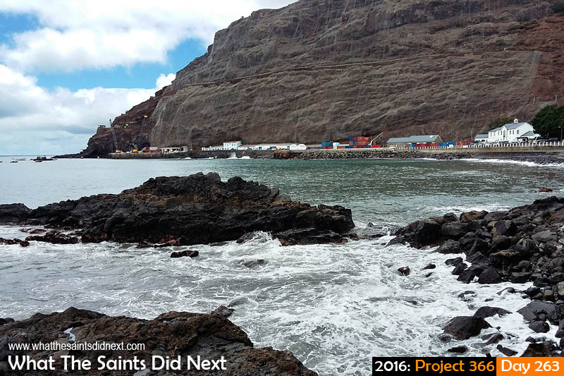 'TC Jolly' 19 September 2016, 11:55 - 1/1118, f2.4, ISO-50 - Samsung Galaxy A3 What The Saints Did Next - 2016 Project 366 James Bay, St Helena.