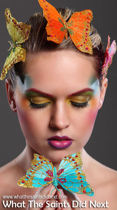 This butterfly beauty shoot was all about Sharon's creative talents as a make-up artist. Photoshoots are 10 times better when you have a make-up artist to work with. It's also helpful having a great model like Carly to carry off the look. International Artist Day 2016.