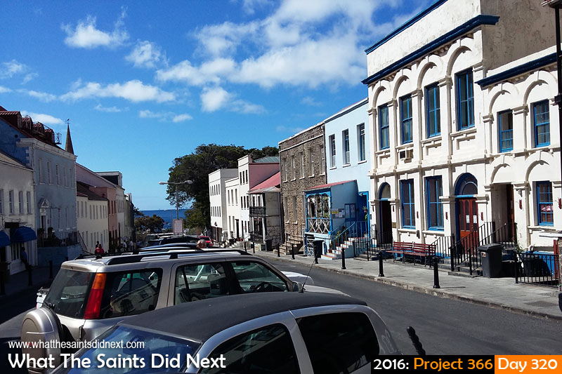 'Disqualification' 15 November 2016, 14:56 - 1/1610, f2.4, ISO-50 - Samsung Galaxy A3 What The Saints Did Next - 2016 Project 366 Main Street, Jamestown, St Helena.