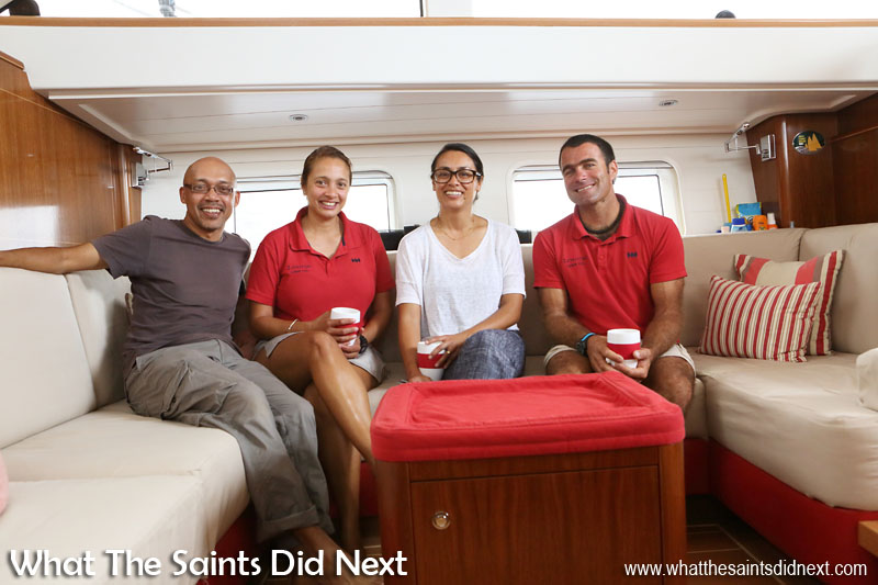 This is the kind of yachting we could get used to! What The Saints Did Next meets the Morice World Tour.
