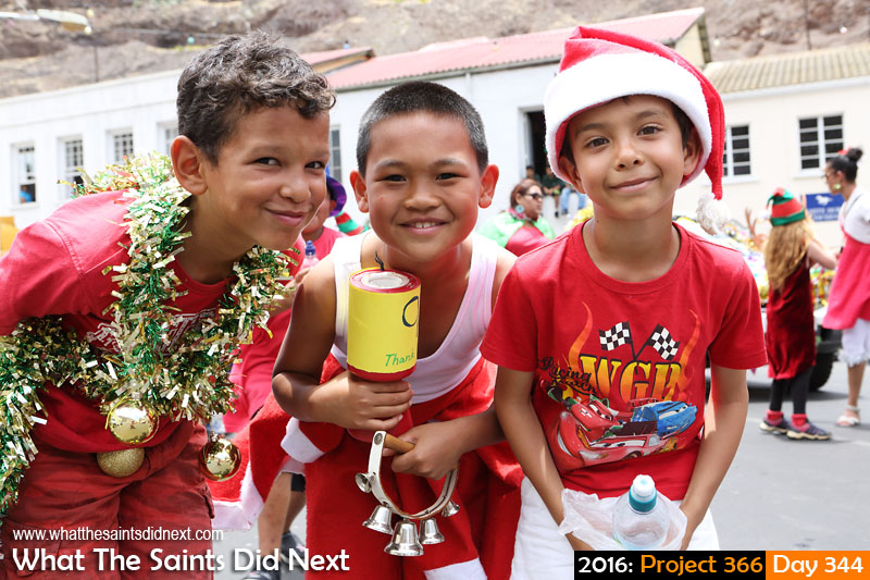'Issur Danielovitch' 9 December 2016, 12:33 - 1/250, f8, ISO-200 What The Saints Did Next - 2016 Project 366 Pupils from St Paul's Primary taking part in the school's annual Christmas parade through Jamestown, St Helena.