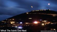 Lighting High Knoll Fort, St Helena Island.