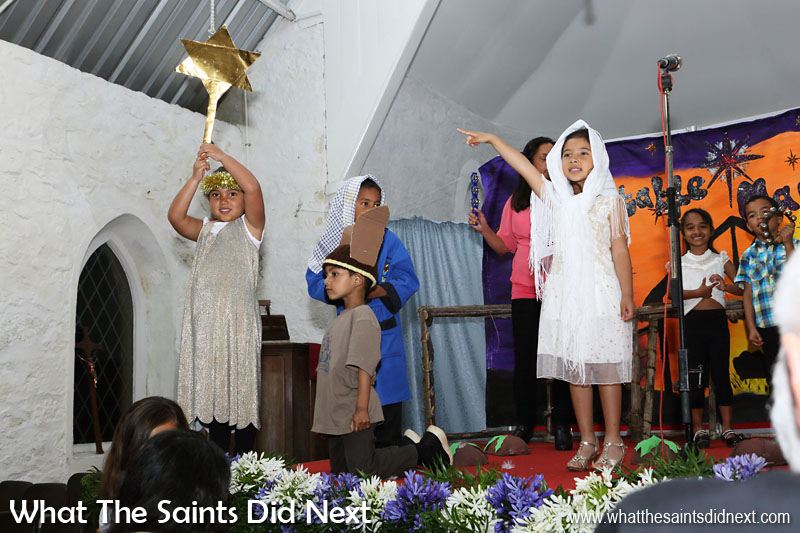Christmas season begins. Harford Primary School hold their annual nativity play in St Matthews Church, Hutts Gate. St Helena 2016: The Year In Review