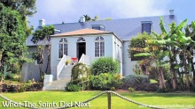 Bertrand's Cottage, St Helena.