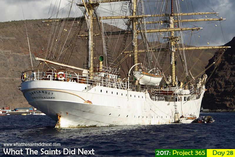 'Rooster' 28 January 2017, 17:24 - 1/640, f8, ISO-200 What The Saints Did Next - 2016 Project 365. SS Sorlandet in Jamestown, St Helena.