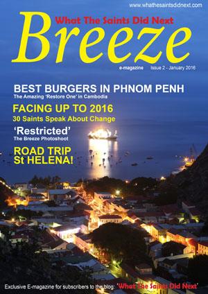 Breeze 2 e-magazine - published in January 2016.